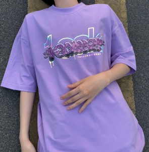 BASIC TEE - BABY PURPLE