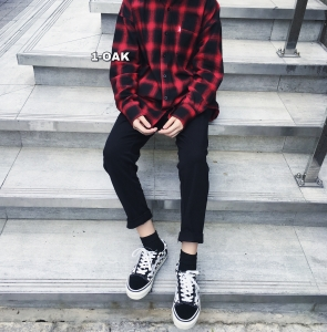 FLANNEL RED